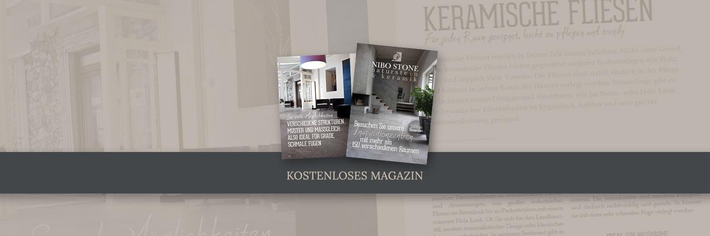 Neues Magazin - Sehen sie unseres E-Book an, voll mit Tipps und Inspirationen über Naturstein und Keramik Boden